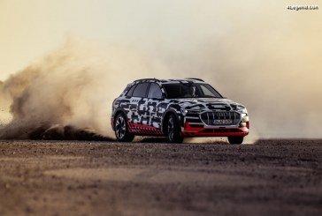 Dynamique électrisante de l'Audi e-tron prototype