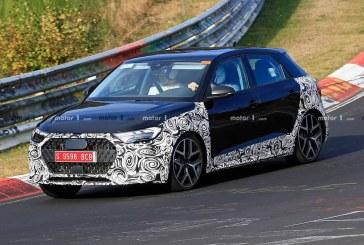 Spyshots Audi A1 Active 2019
