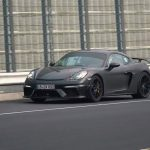 Spyshots Porsche 718 Cayman GT4 2019 sur le Nürburgring