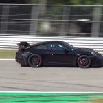 Spyshots Porsche 911 GT3 avec un nouvel aileron et un bruit de Flat 6 atmosphérique