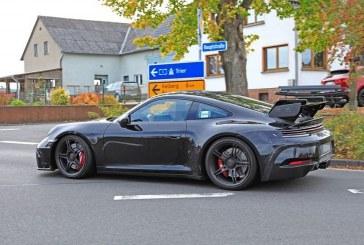 Spyshots Porsche 911 GT3 Type 992 définitive
