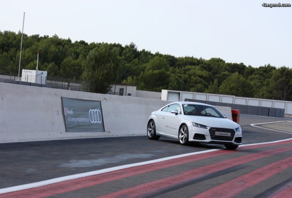 20 ans du TT sur le circuit Paul Ricard, organisation Audi France