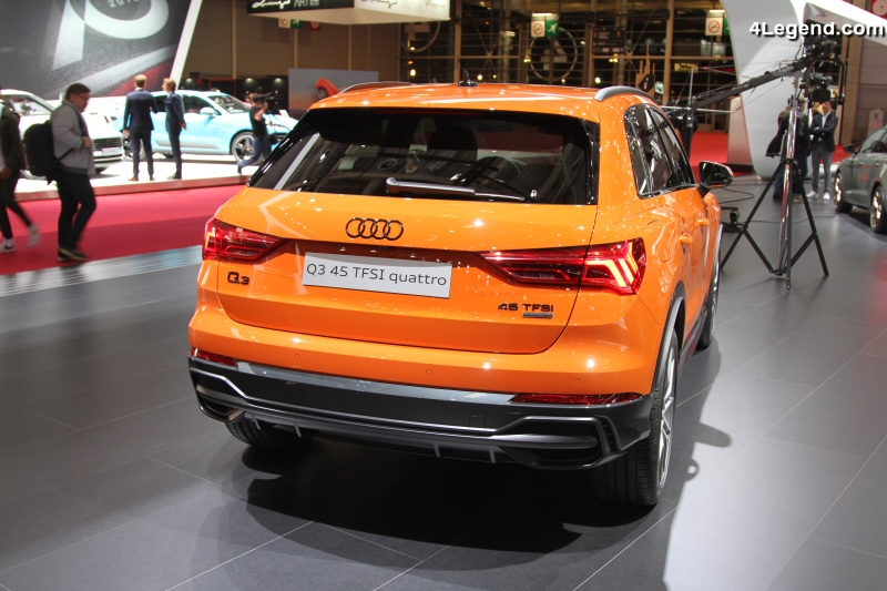 paris 2018 audi q3 en d tail un suv l gant et sportif. Black Bedroom Furniture Sets. Home Design Ideas