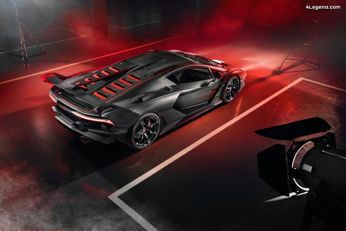 Lamborghini SC18 Alston - Le premier véhicule unique créé par Squadra Corse