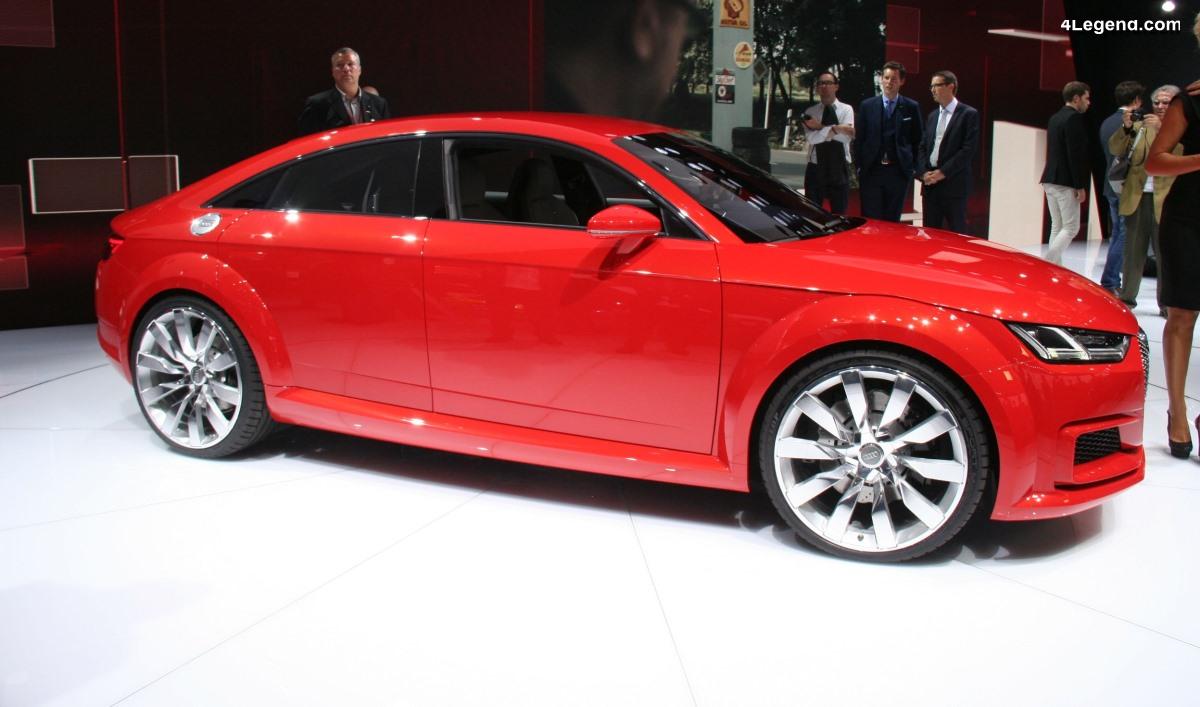 La prochaine génération d'Audi TT pourrait être à 4 portes