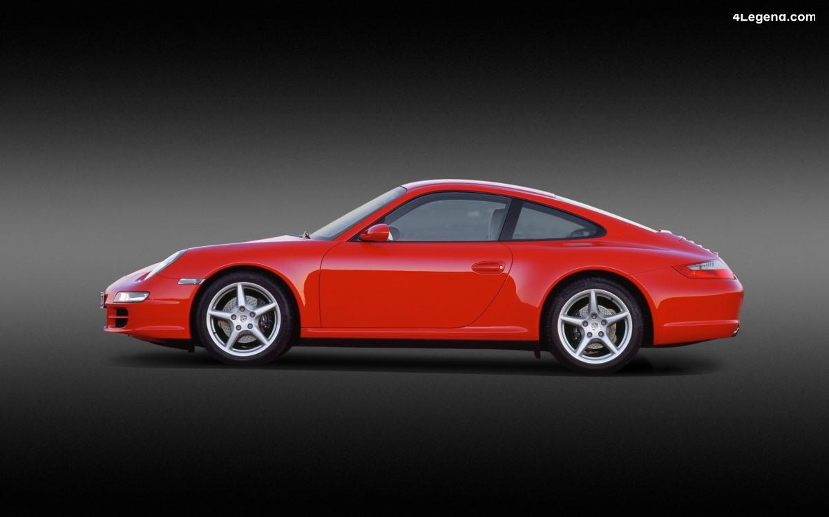 Porsche 911 Type 997 (2004 - 2012) : une grande variété de modèles