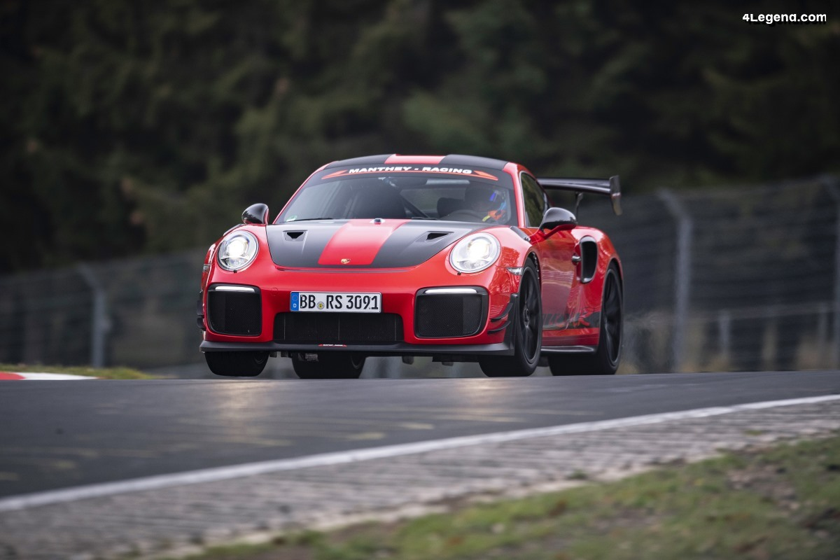 Nouveau record Porsche sur le Ring avec la 911 GT2 RS MR