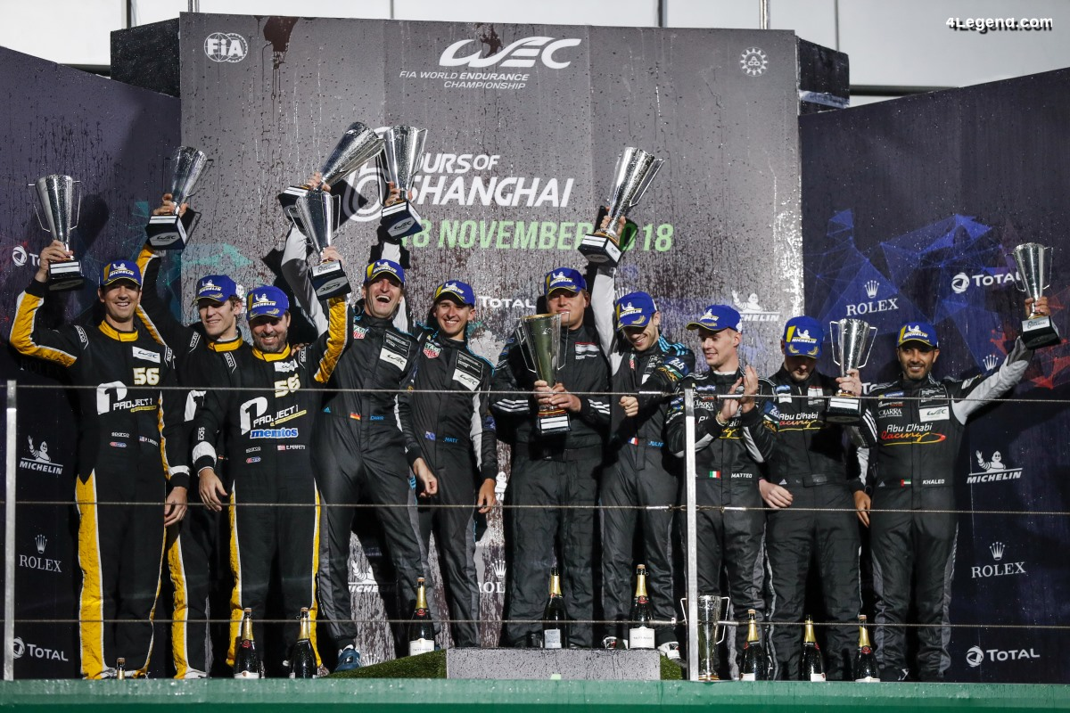 WEC - Deuxième et troisième place aux 6 Heures de Shanghai pour la Porsche GT Team