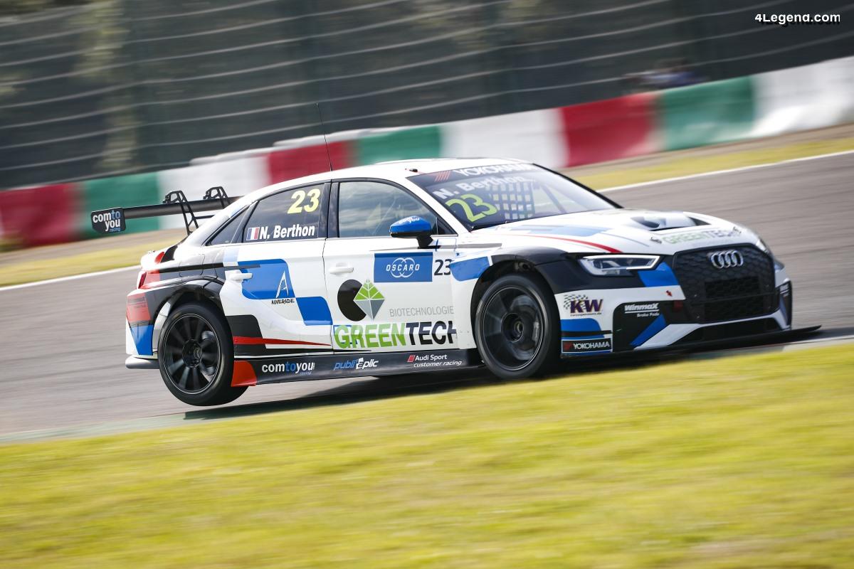 WTCR - Quatrième place pour Audi à Suzuka