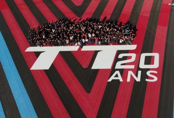 L'Audi TT souffle ses 20 bougies sur le circuit Paul Ricard entourée de passionnés