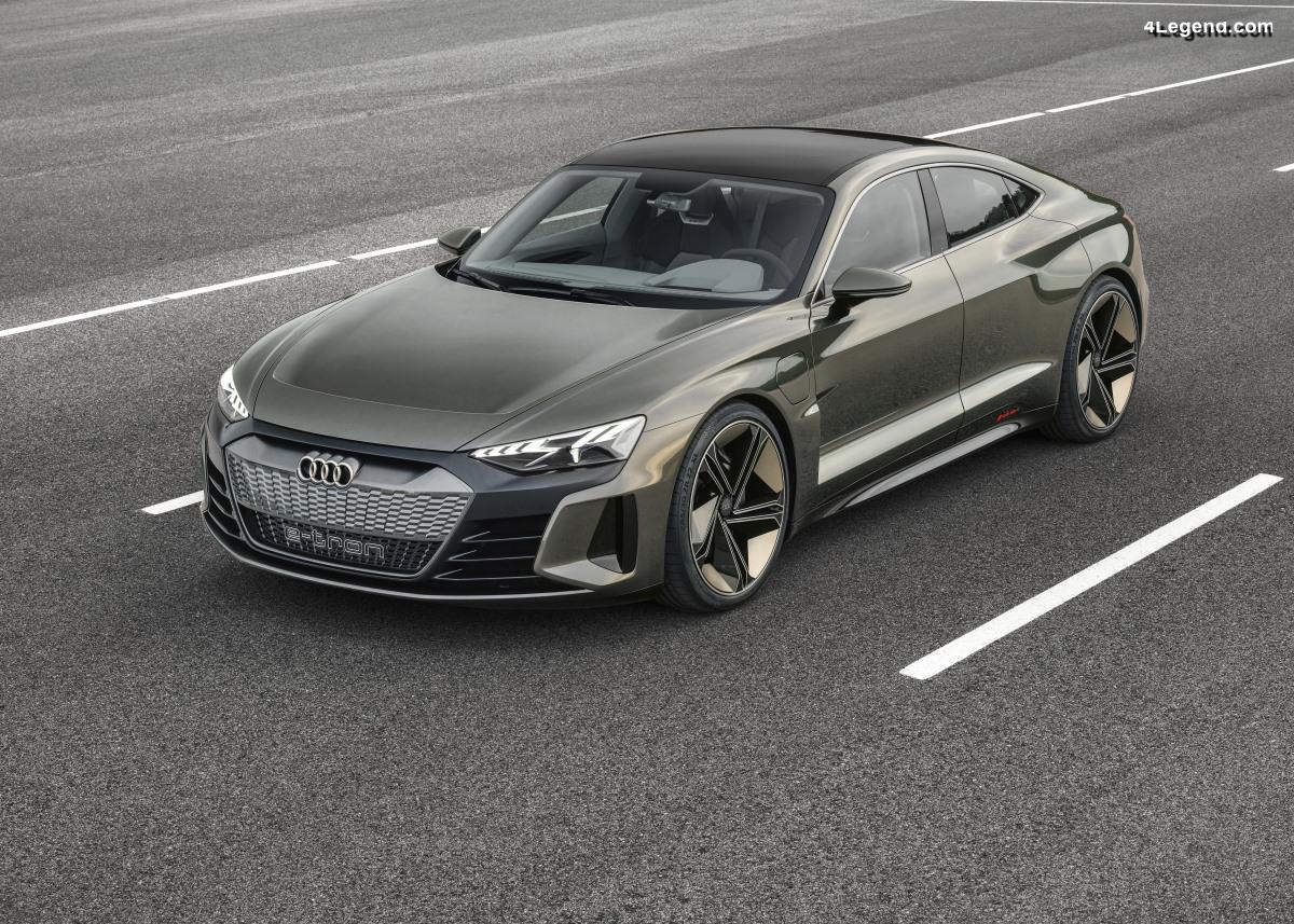 Audi e-tron GT concept - Vision du 3ème modèle électrique de la marque