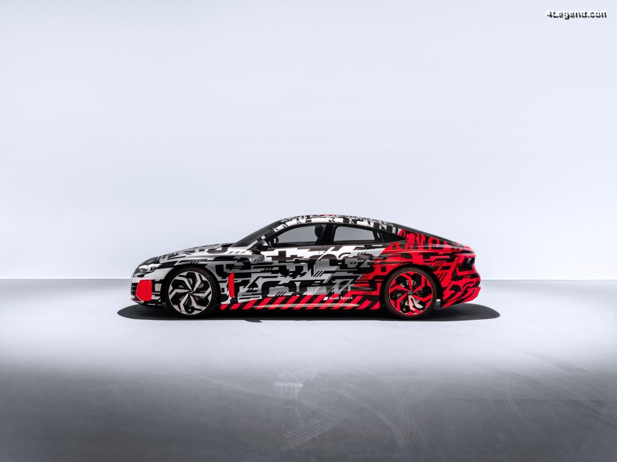 Première mondiale de l'Audi e-tron GT concept - 28/11/2018 à 22h05