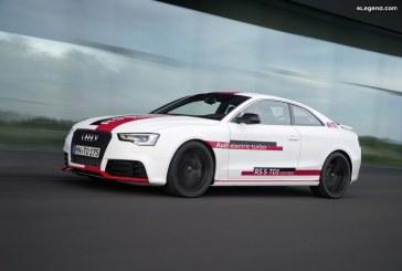 Audi RS5 TDI concept de 2014 – Le premier moteur tri-turbo TDI d'Audi : 385 ch