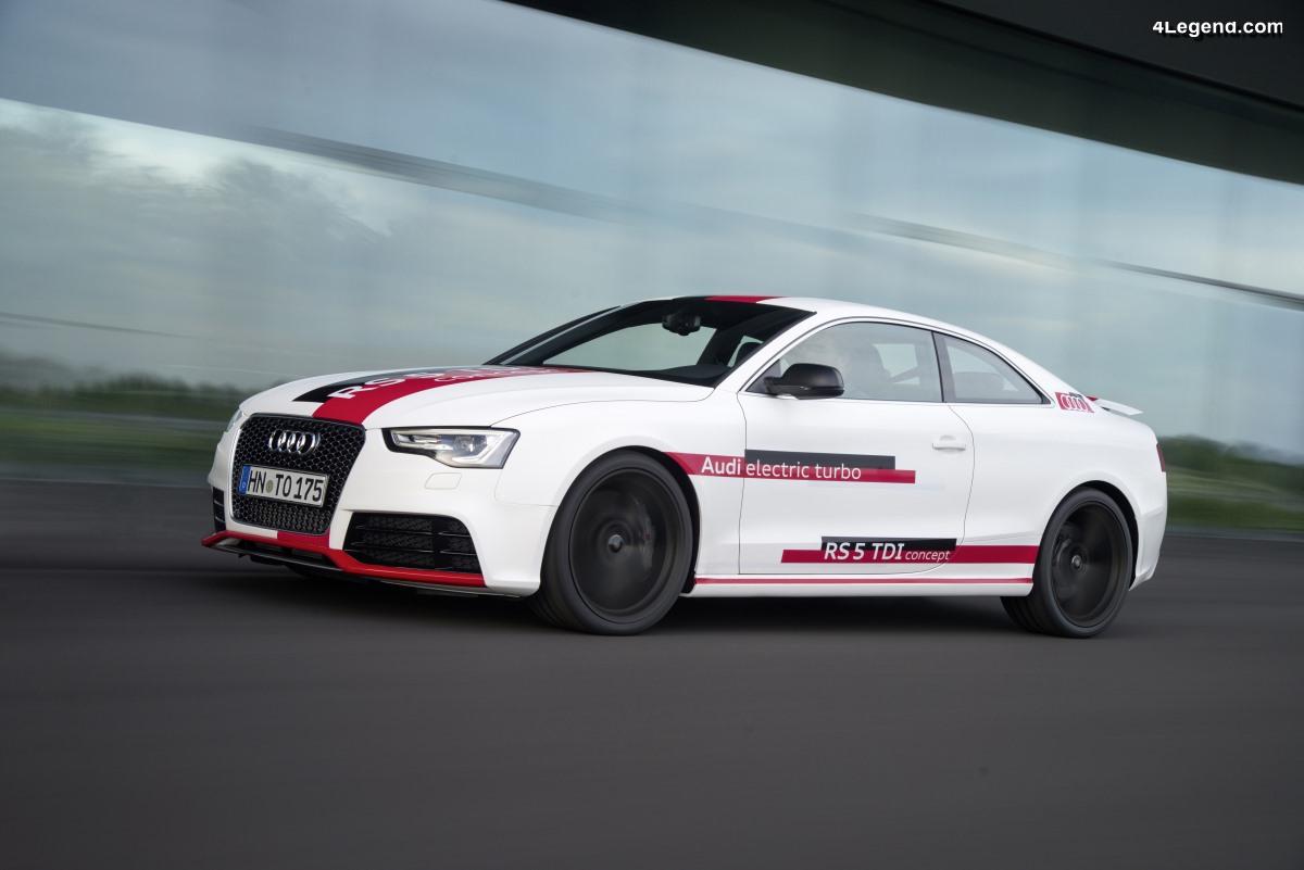 Audi RS5 TDI concept de 2014 - Le premier moteur tri-turbo TDI d'Audi : 385 ch