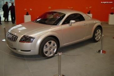 Audi TT Coupé concept de 1995 – Le tout premier TT