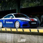 Une superbe Audi TT aux couleurs de Rothmans préparée par EAH Customs