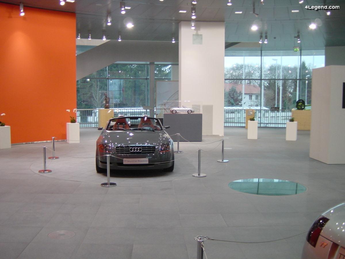 Audi TTS Roadster concept de 1995 - L'origine du TT Roadster