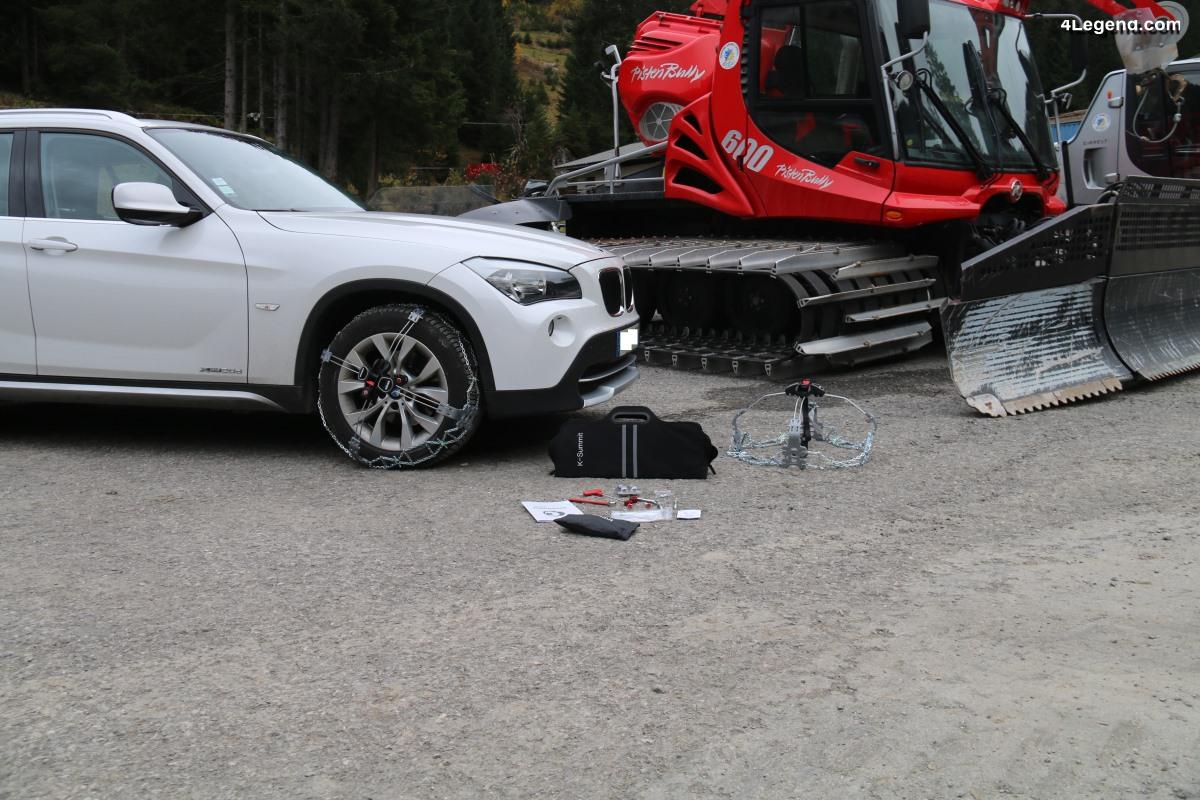 Chaines neige König K-Summit - Une solution pour les véhicules non-chaînables