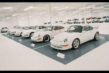 Une incroyable et immense collection américaine de Porsche blanches