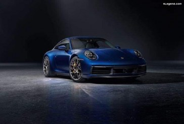 Fuite de photos officielles de la Porsche 911