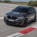 Les pneus Yokohama Advan Sport V105 en 1ère monte sur la BMW X3 M Performance
