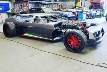 Lamborghini Espada Hot Rod par Danton Arts Kustoms