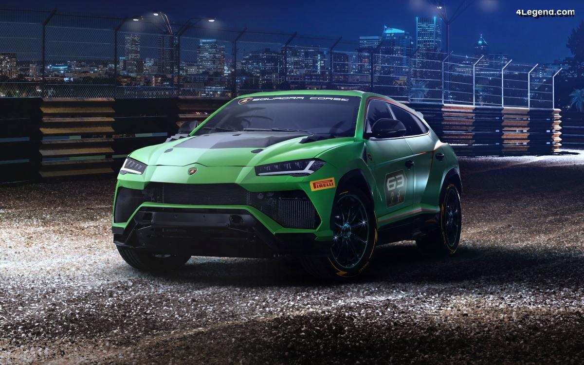 Lamborghini Urus ST-X Concept : le premier Super SUV conçu pour la course