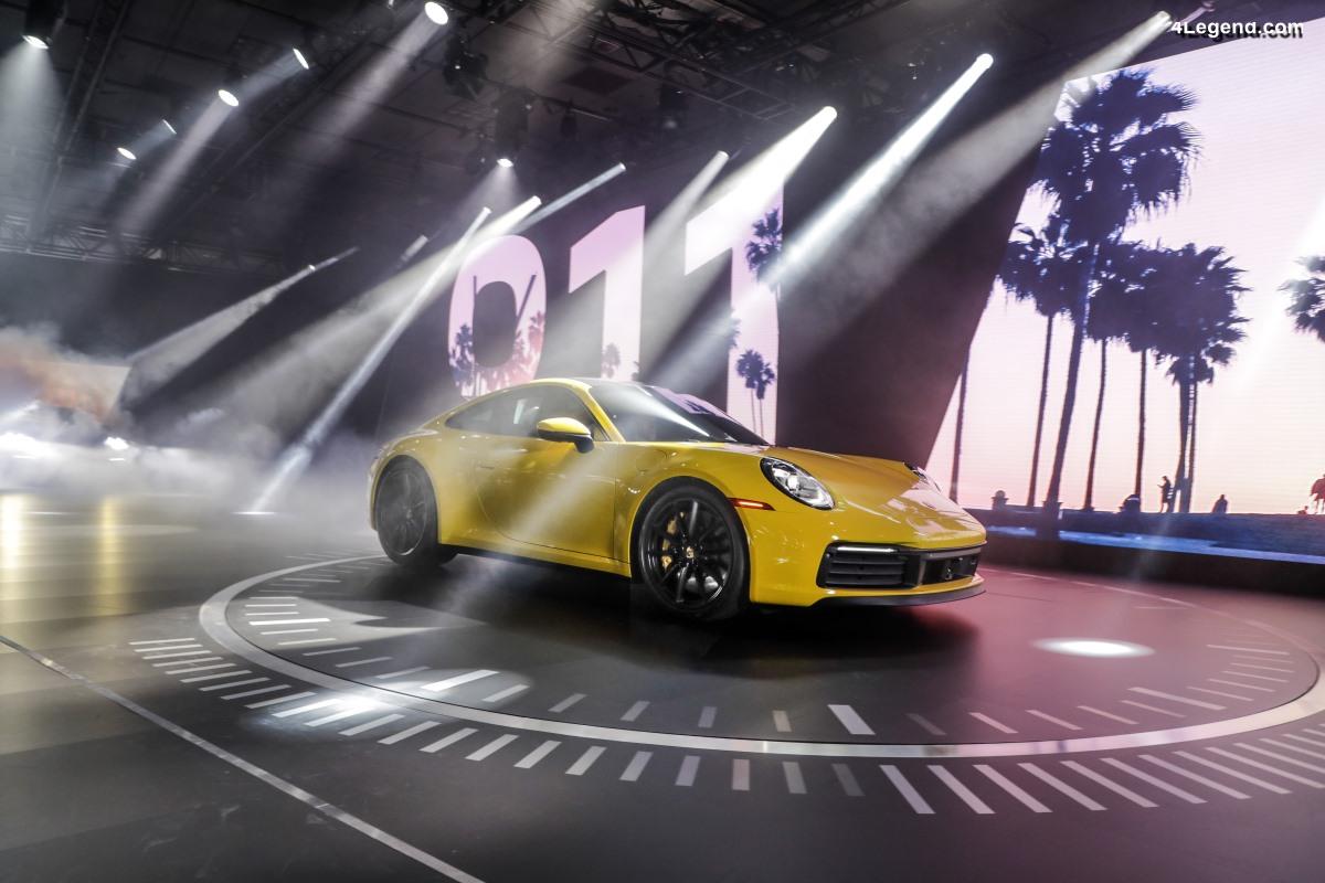 Los Angeles 2018 - La nouvelle Porsche 911 fait son entrée sur son principal marché