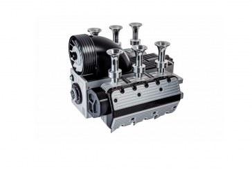 Une machine à café en forme de moteur Flat 6 – Super Veloce Espresso Flat 6