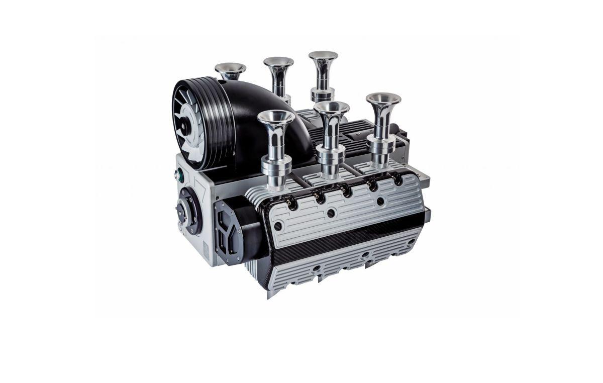 Une machine à café en forme de moteur Flat 6 - Super Veloce Espresso Flat 6