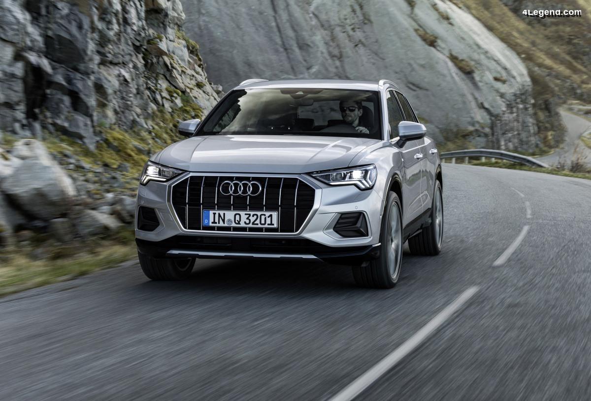 Ouverture des commandes de la nouvelle Audi Q3