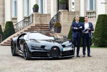 Un partenariat entre Bugatti et le Champagne Carbon