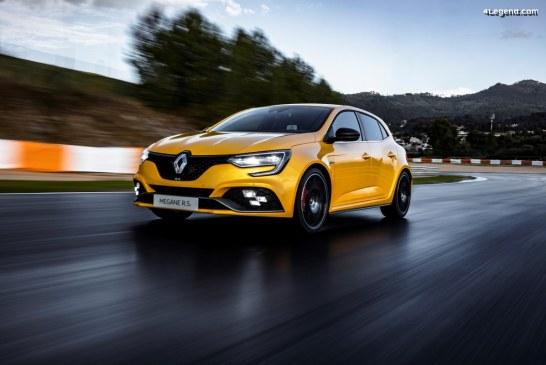 Des pneus Bridgestone Potenza S001 et S007 sur la nouvelle Renault Mégane R.S. Trophy