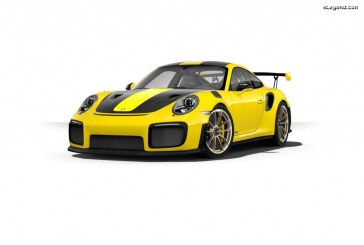 Porsche 911 GT2 RS pack Clubsport avec arceau en acier homologué FIA