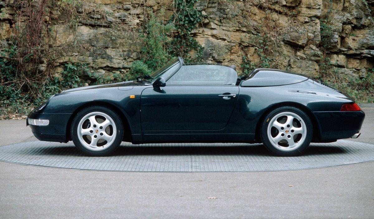 Porsche 911 Speedster Type 993 - Juste 2 exemplaires uniques