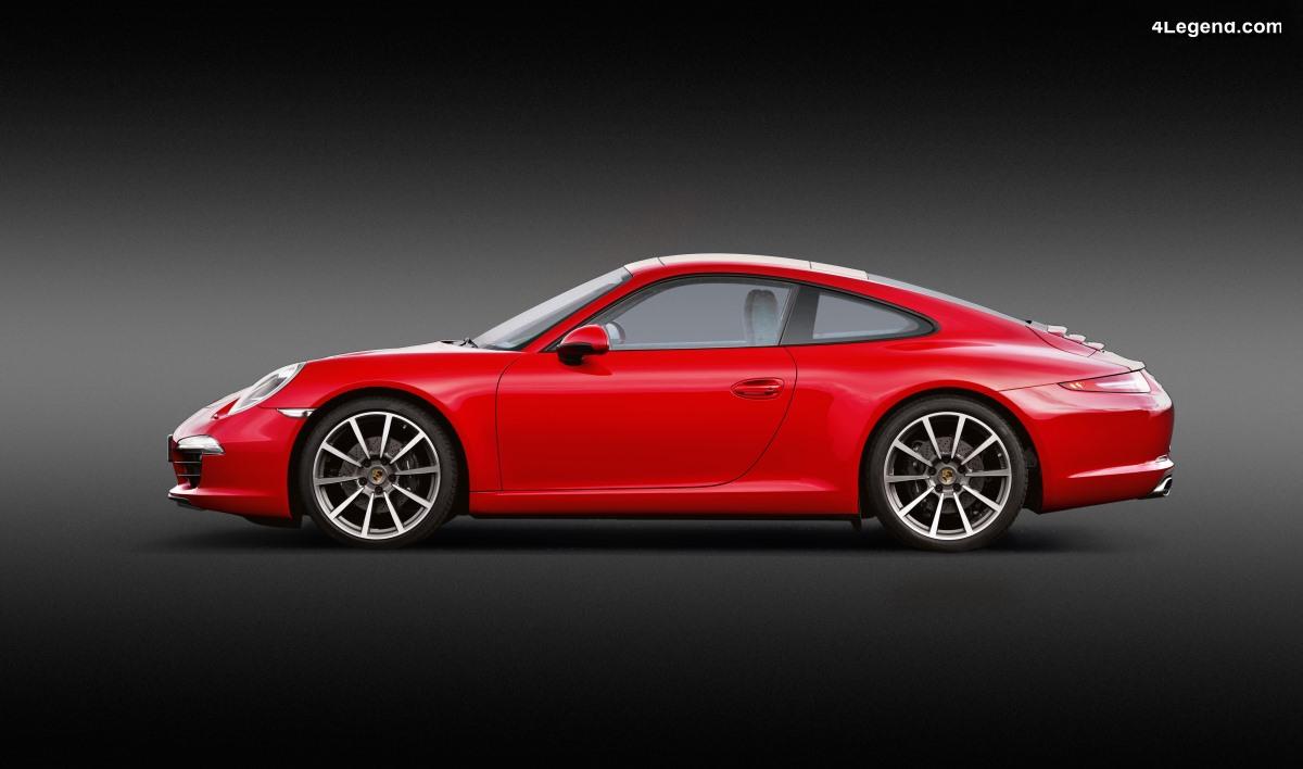 Porsche 911 Type 991 (2011 - 2019) - La plus vendue