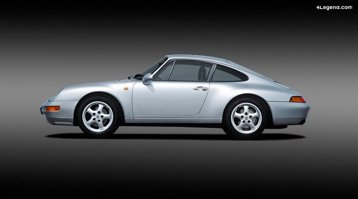 Porsche 911 Type 993 (1993 - 1998) - La dernière 911 refroidie par air