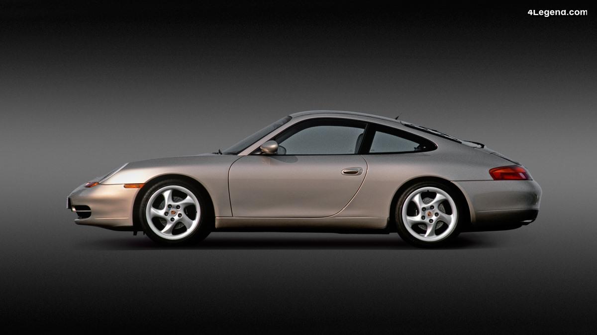 Porsche 911 Type 996 (1997 - 2005) - La première 911 refroidie par eau