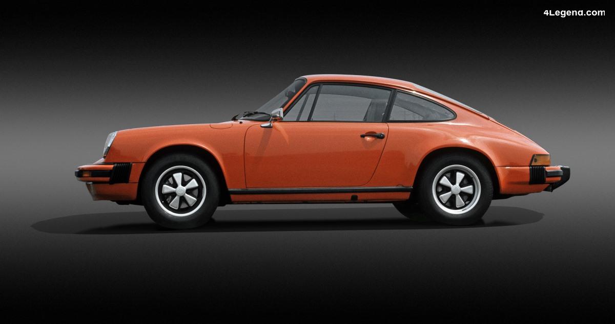 Porsche 911 Type G - La seconde génération (1973 - 1989) dotée d'innovations techniques