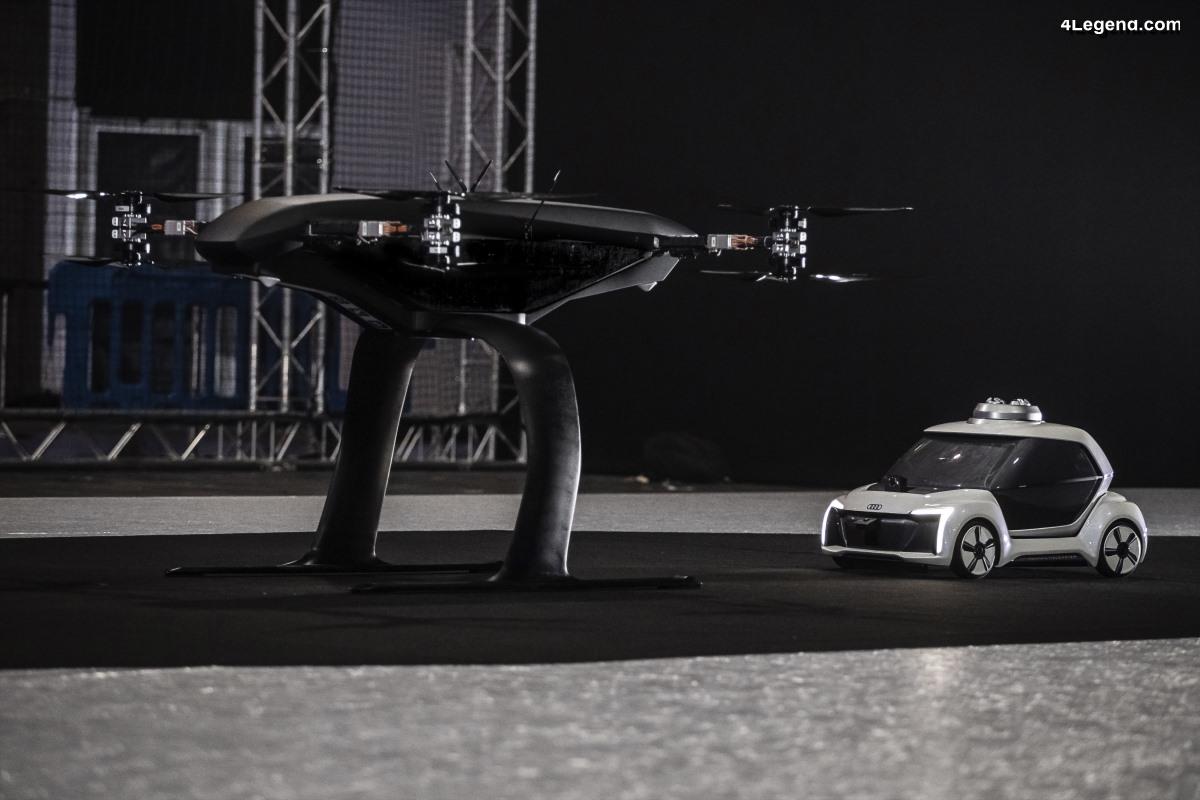 Audi, Airbus et Italdesign testent le concept de taxi volant