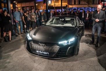 Voici l'Audi e-tron GT concept : la future berline électrique d'Audi.