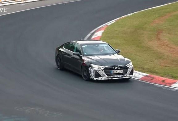 Spyshots Audi RS 7 Sportback sur le Nürburgring