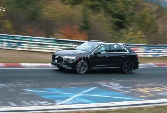 Spyshots Audi SQ8 sur le Nürburgring