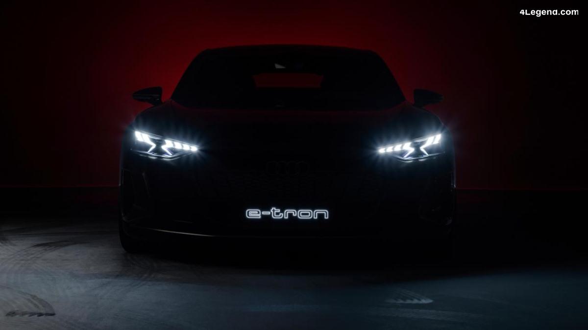L'Audi e-tron GT concept se dévoile