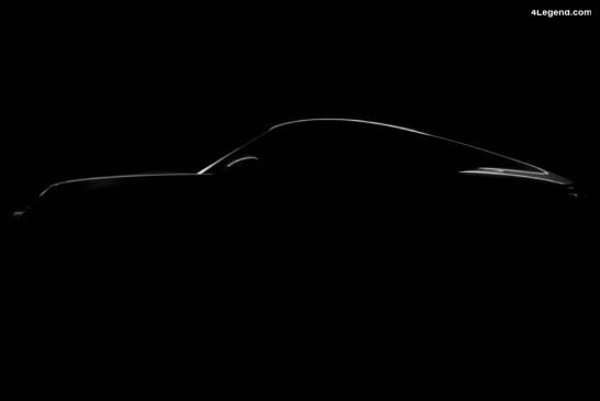 Premier teaser officiel de la Porsche 911 Type 992.