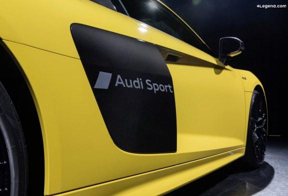 Audi introduit le matage partiel dans la production en série