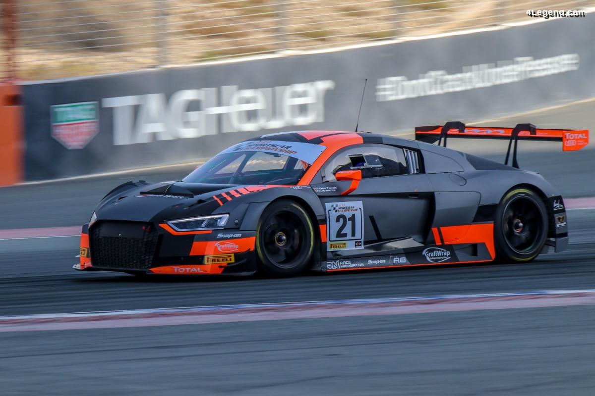 Victoires pour l'Audi Sport customer racing à Dubaï et en Australie
