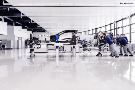 Anecdotes en vidéo de l'Atelier de fabrication de la Bugatti Chiron à Molsheim