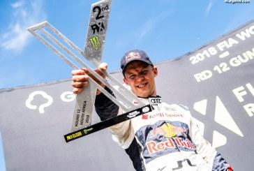 WRX – le pilote Audi Mattias Ekström finit deuxième du championnat 2018