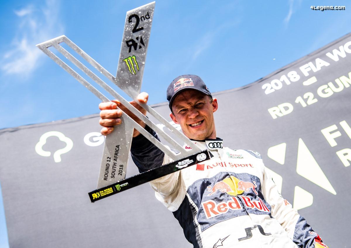 WRX - le pilote Audi Mattias Ekström finit deuxième du championnat 2018